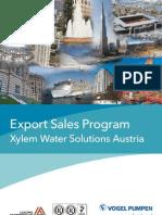 2012 Product Portfolio Xylem Water Solutions Austria