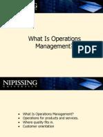 2167 Operations Management