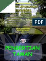 [Presentation] Pengertian Taman