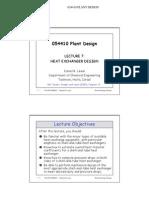 Heat Exchanger Design Lecture_07