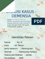 Diskusi Kasus Demensia Isa Ara