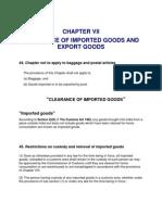 Presentation on Customs Act 1962