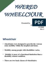 Powered Wheelchair Anu