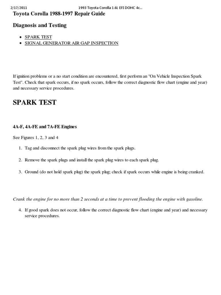 01-Distributor Ignition System _ Diagnosis and Testing _ AutoZone ...