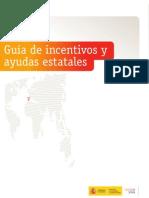 Guía de incentivos y ayudas estatales