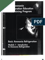 IIAR Ammonia Refrigeration Education And Training Program -- Module 1