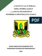 Proposal Bantuan Alat Peraga Dan Model Pembelajaran Calistung Sd Dari Dinas Pendidikan Provinsi Jawa Barat
