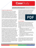 Case Study - JetBlue Airways Organizational Development - Partners for Change