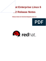 RHEL 6 - 6.2 Release Notes