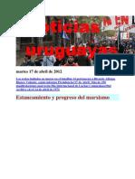 Noticias Uruguayas Martes 17 de Abril de 2012