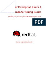 RHEL 6 Performance Tuning Guide
