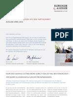 Aktuelle Informationen aus dem Kapitalmarkt - April 2012
