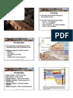 Sedimen - Lithostratigraphy
