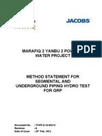 Hydrotest Method Statement 12th Mar 2012-1