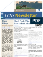 March April 2012 Newsletter