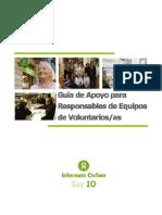 Guia Para Resp on Sables Equipos de Voluntariado_2010