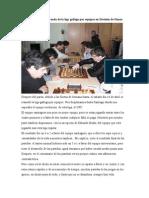 Cronica de la décima ronda de la liga gallega por equipos en Division de Honor