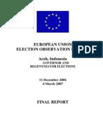 Aceh Elections 2006 EU Final_report_en