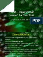 Topik 5 - Rawatan Air Sisa (16 Nov) Bhg 1