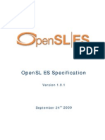 OpenSL ES Specification 1.0.1