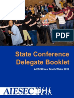 NSW State Conference Delegate Booklet