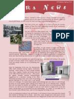 Aroma News 10th Edition Spring 2012
