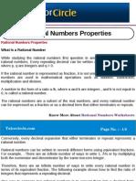 Rational Numbers Properties