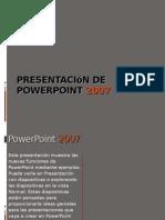presentación de powerpoint 2007