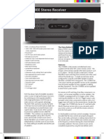 Data Sheet - C 720BEE Stereo Receiver