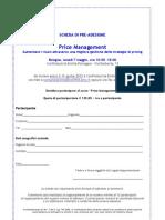 Scheda Pre-Adesione Seminario Price Management_Bologna 7 Maggio 2012