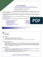 Programma Seminario Price Management_Bologna 7 Maggio 2012