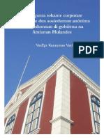 50 pregunta tokante corporate governance den sosiedatnan anonima i fundashonnan di gobiernu na Antianan Hulandes - Yuli 2006