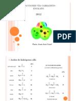 Reacciones vía carbanión-enolato