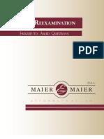 Patent Reexamination FAQs
