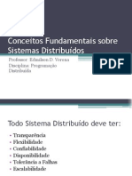 Conceitos Fundamentais Sobre Sistemas Distribuidos