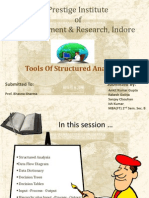 Tools of Structured Analysis