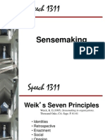 5 - Sensemaking