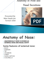 Anatomy of Nose And