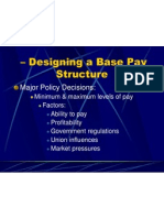 Designing Pay Structure