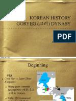 Teaching Korean History - Goryeo