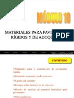 Present Pavimento Materiales