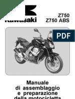ZR750L7F Manuale Di Assemblaggio