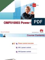 Power Control Training