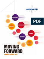 InnoTek Limited 2011 Annual Report ~ Moving Forward