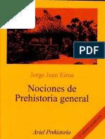 Nociones de Prehistoria General - Eiroa J.J