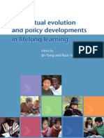 Conceptual Evolution and Policy Developments in Lifelong Learning