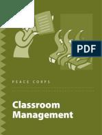 Peace Corps Classroom Management Idea Book