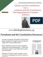 PC 2 Impeachment-Andrew Johnson-Student Program