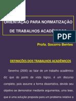 3 NORMAS PARA ELABORAÇÃO DE TRABALHOS ACADÊMICOS