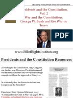 PC 2 Commander-Bush and the War on Terror-Student Program